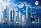 Wizard + Genius Wallpaper Wall Mural 00120 World's Tallest Buildings By Colemans